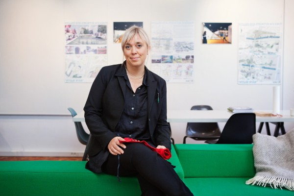 Sanna Hederus i Sveriges Arkitekters halvårsrapport