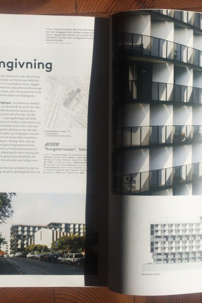 Sätra publicerat i Arkitektur