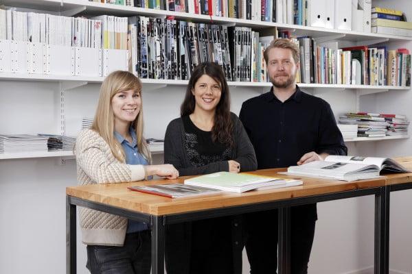 Kod förstärker med tre arkitekter
