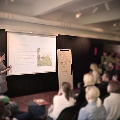 Fullsatt på Kods temakväll om resilient stadsbyggnad