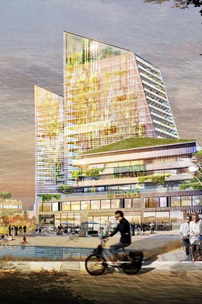 Se Kods förslag till nya bostadskvarter i Kista
