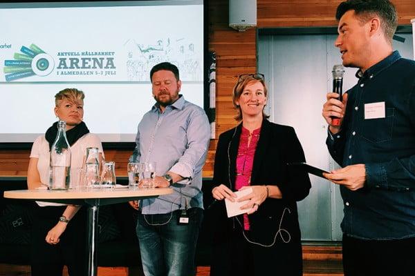Hållbarhet på Kods agenda i Almedalen