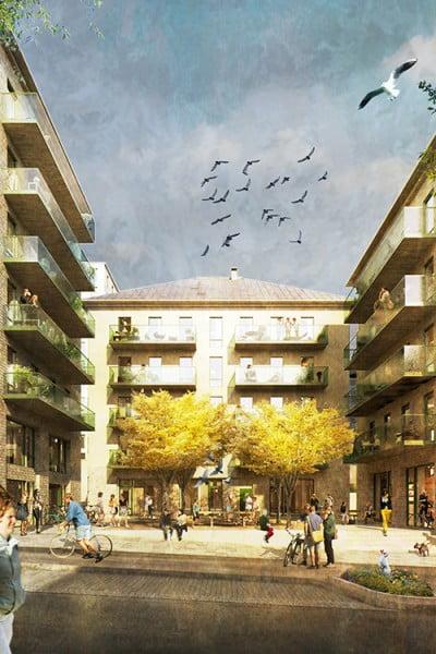 Kod ritar ByggVestas kvarter i Ulleråker