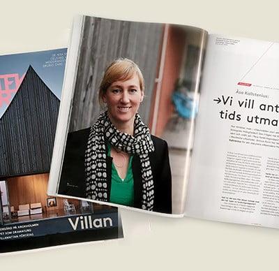 Åsa Kallstenius i Arkitektur