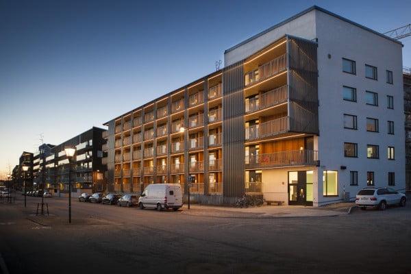 Assistenten kan bli Årets byggnad i Sundbyberg