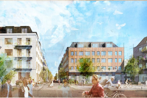 Kvarteret Segerdal ute på samråd